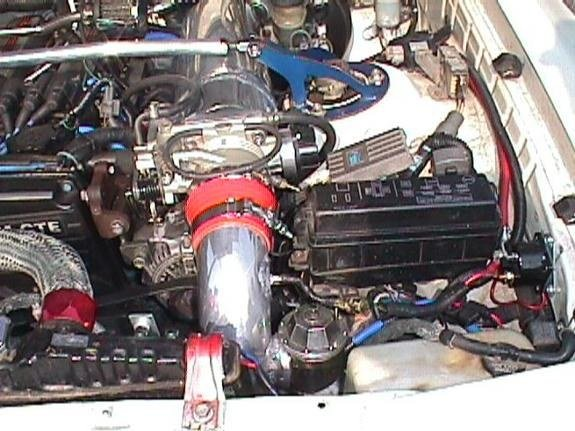 Front-Facing Intake Manifold integration solutions | Supra Forums on