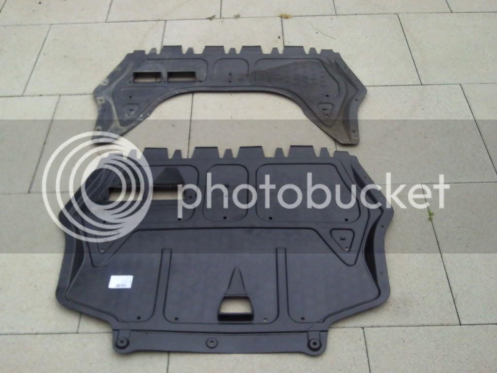 NACA Brake Cooling Ducts in Belly Pan (Engine Splash Shield