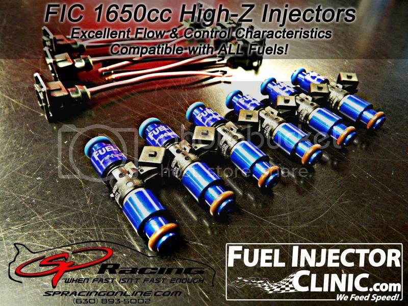 FIC 1650cc High-Z Injectors | Reviewed by Sound Performance