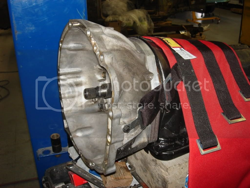 SP 4L80E auto tranny install (updated as install progresses