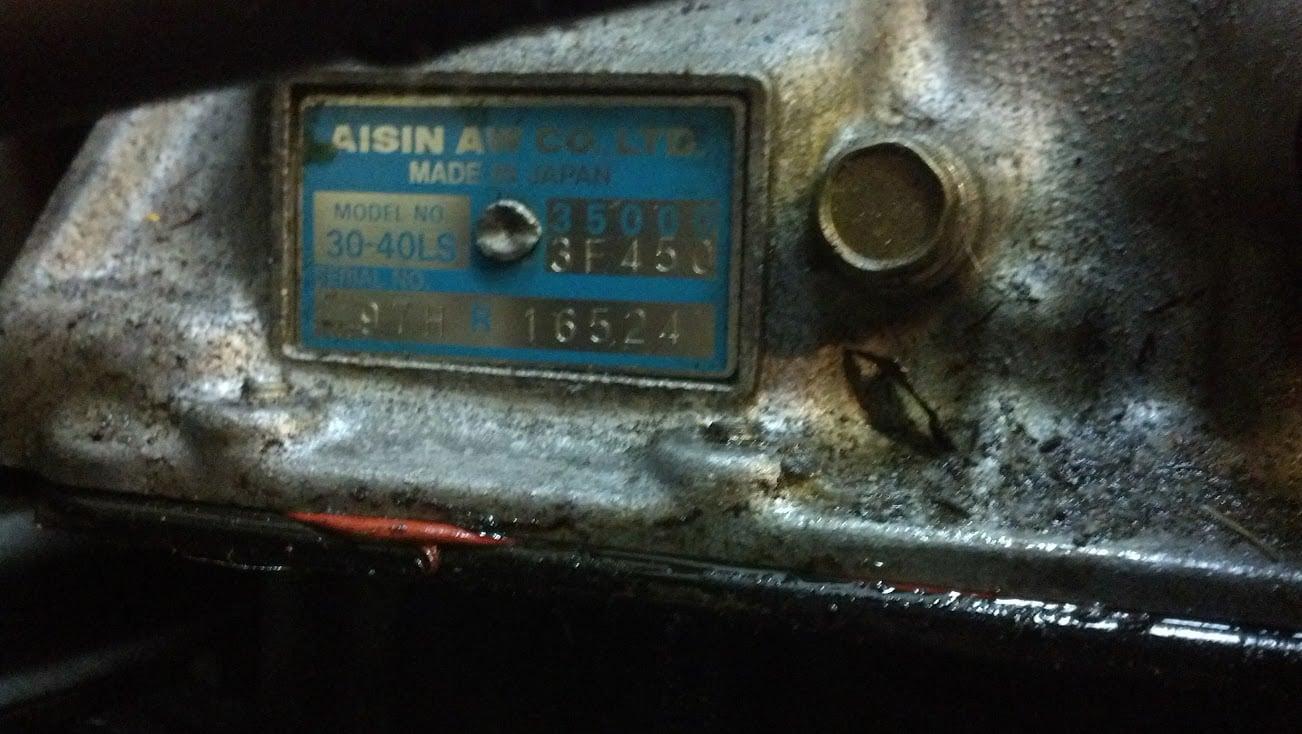 30-40LS transmission | Supra Forums