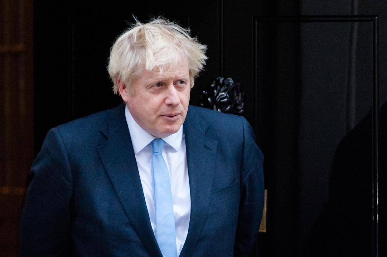"Mr Johnson has said he would ""rather be dead in a ditch"" than ask for a delay (Picture: Getty Images)"